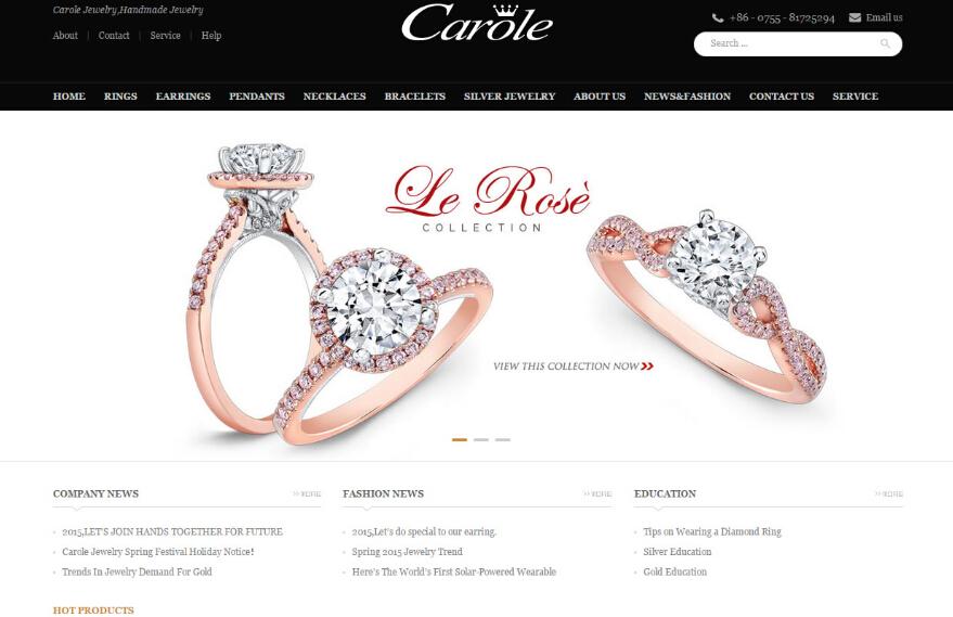 珠宝网站-Carole